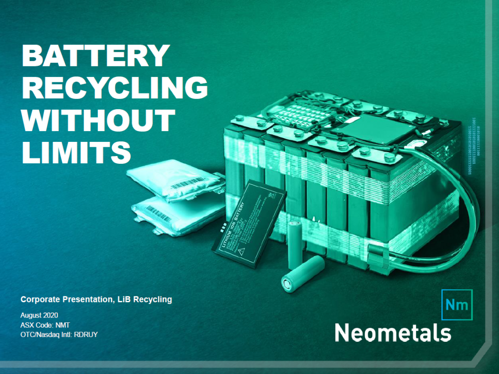 Presentation – Lithium-ion Battery Recycling