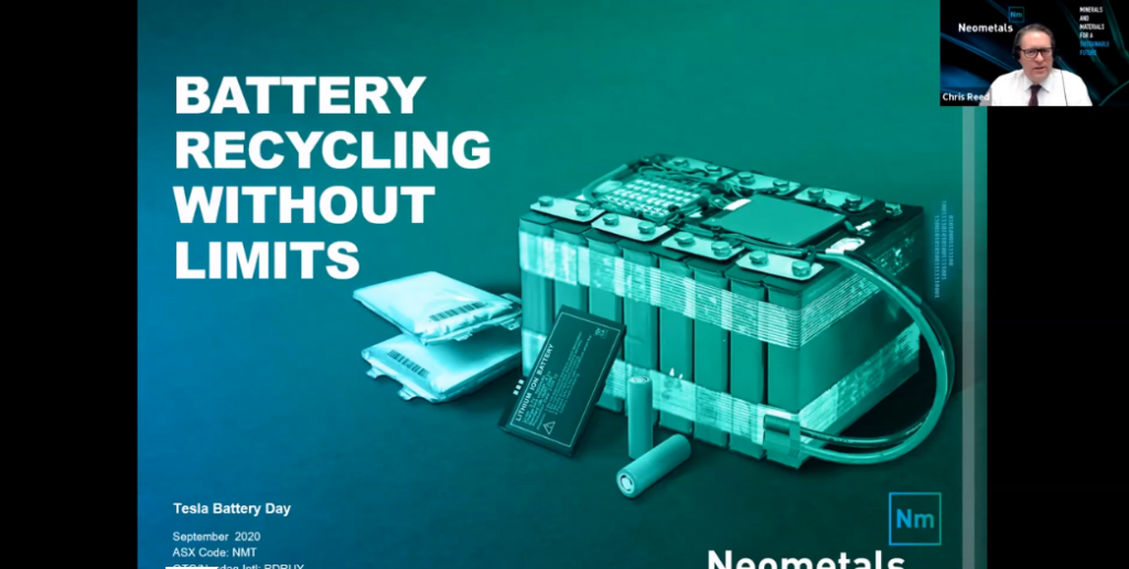 Tesla Battery Day – Benchmark – Neometals Ltd