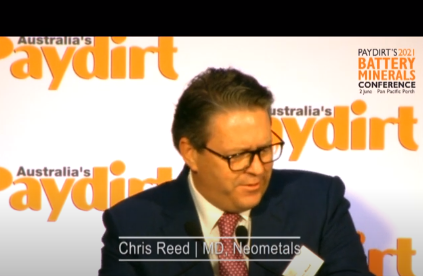 Paydirt Battery Minerals Conference – Presentation
