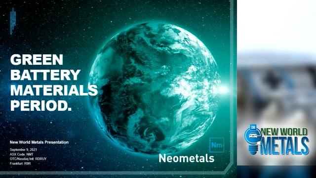 New World Metals 2021 – Presentation
